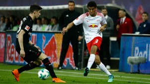 KAI HAVERTZ BAYER LEVERKUSEN BERNARDO RB LEIPZIG GERMAN BUNDESLIGA 09042018