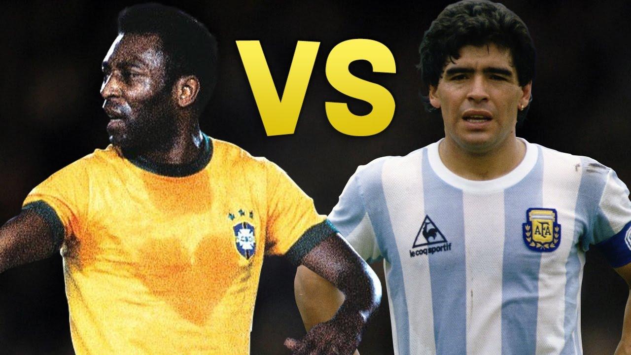 Diego Maradona Pele GFX