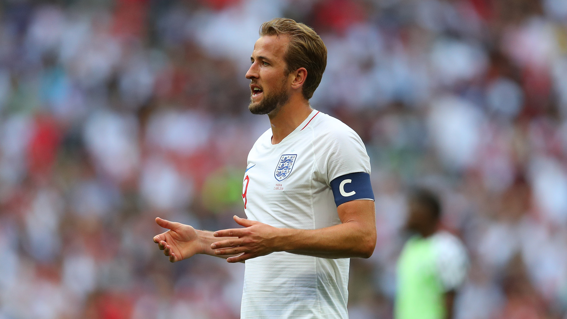 Captain Harry Kane Proud Of England's Persistence