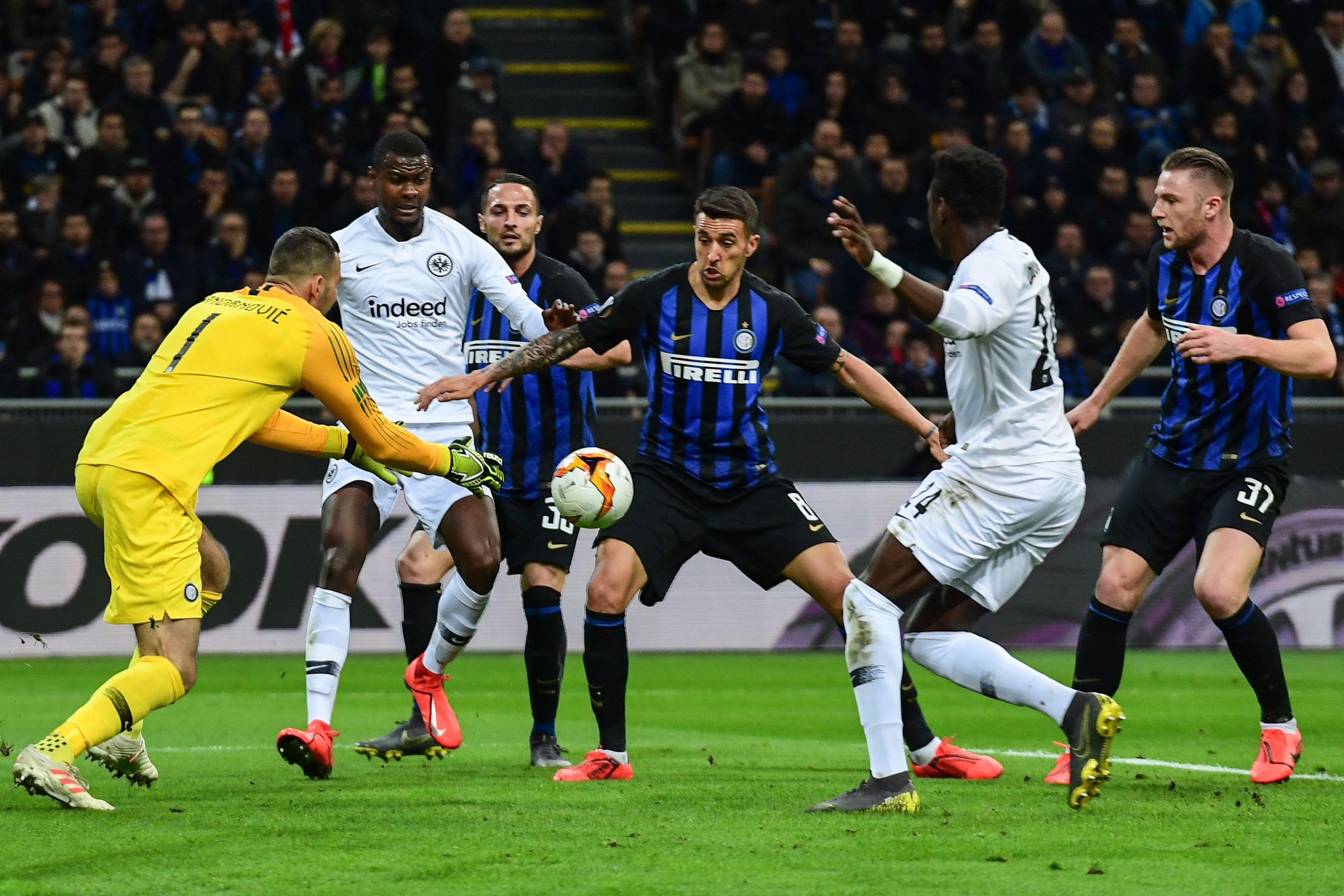 Inter Mailand Frankfurt