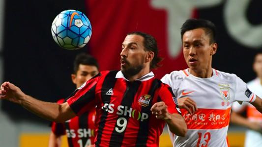 Dejan Damjanovic FC Seoul v Shandong Luneng AFC Champions League 24082016