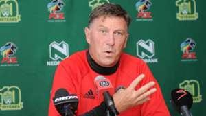 Kjell Jonevrett coach of Orlando Pirates