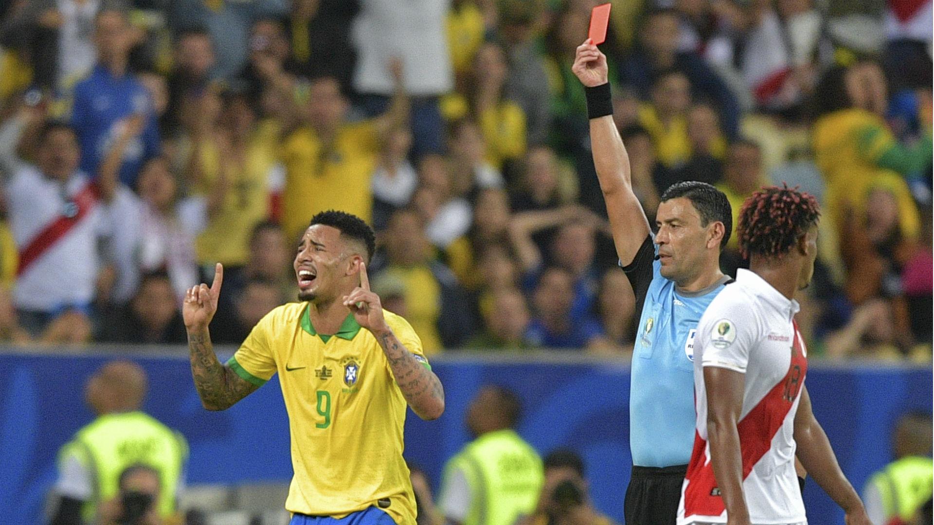 Gabriel Jesus Brazil Copa America 2019