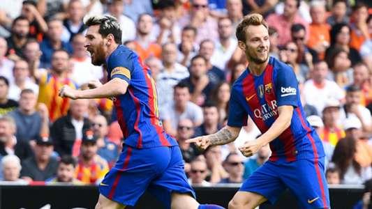 Lionel Messi Ivan Rakitic Barcelona