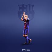 Andres Iniesta Barcelona GFX