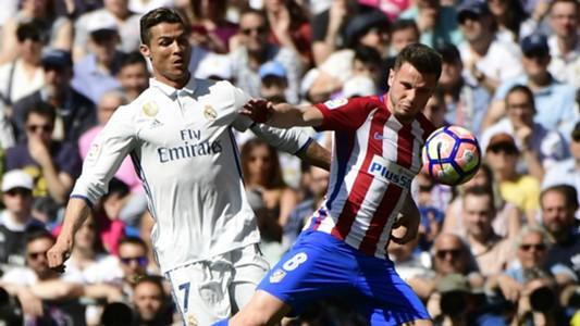 Cristiano Ronaldo Saul Niguez Real Madrid Atletico Madrid La Liga
