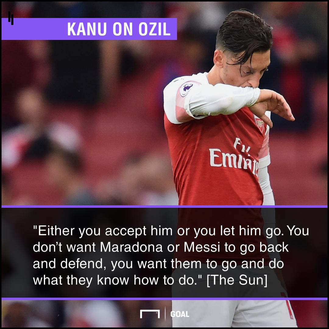Mesut Ozil Arsenal accept him or sell him Kanu
