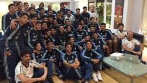 Riquelme Seleccion argentina Sub 15 Sub 17