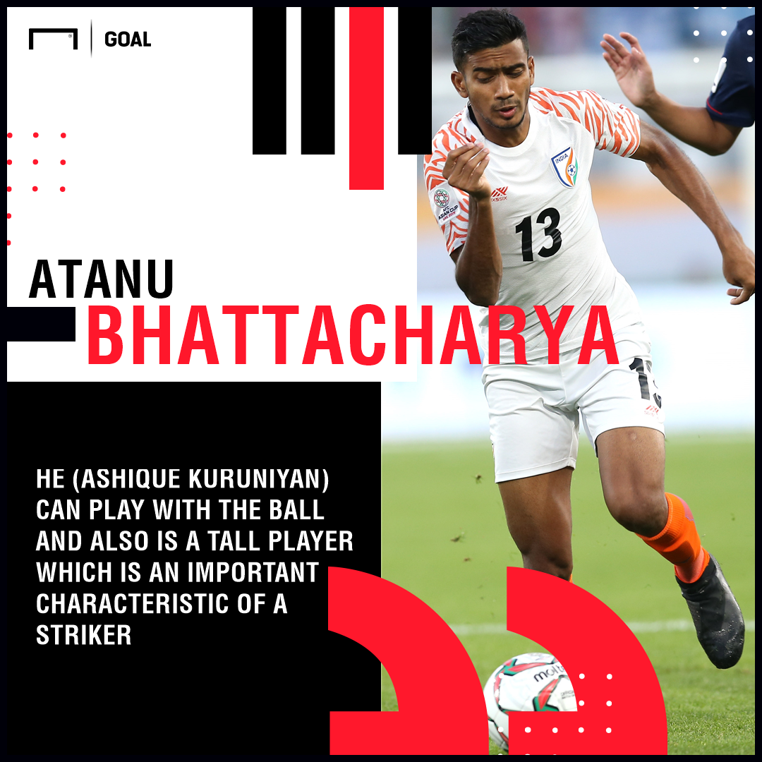 GFX Quote Atanu Bhattacharya on Ashique Kuruniyan India AFC Asian Cup 2019