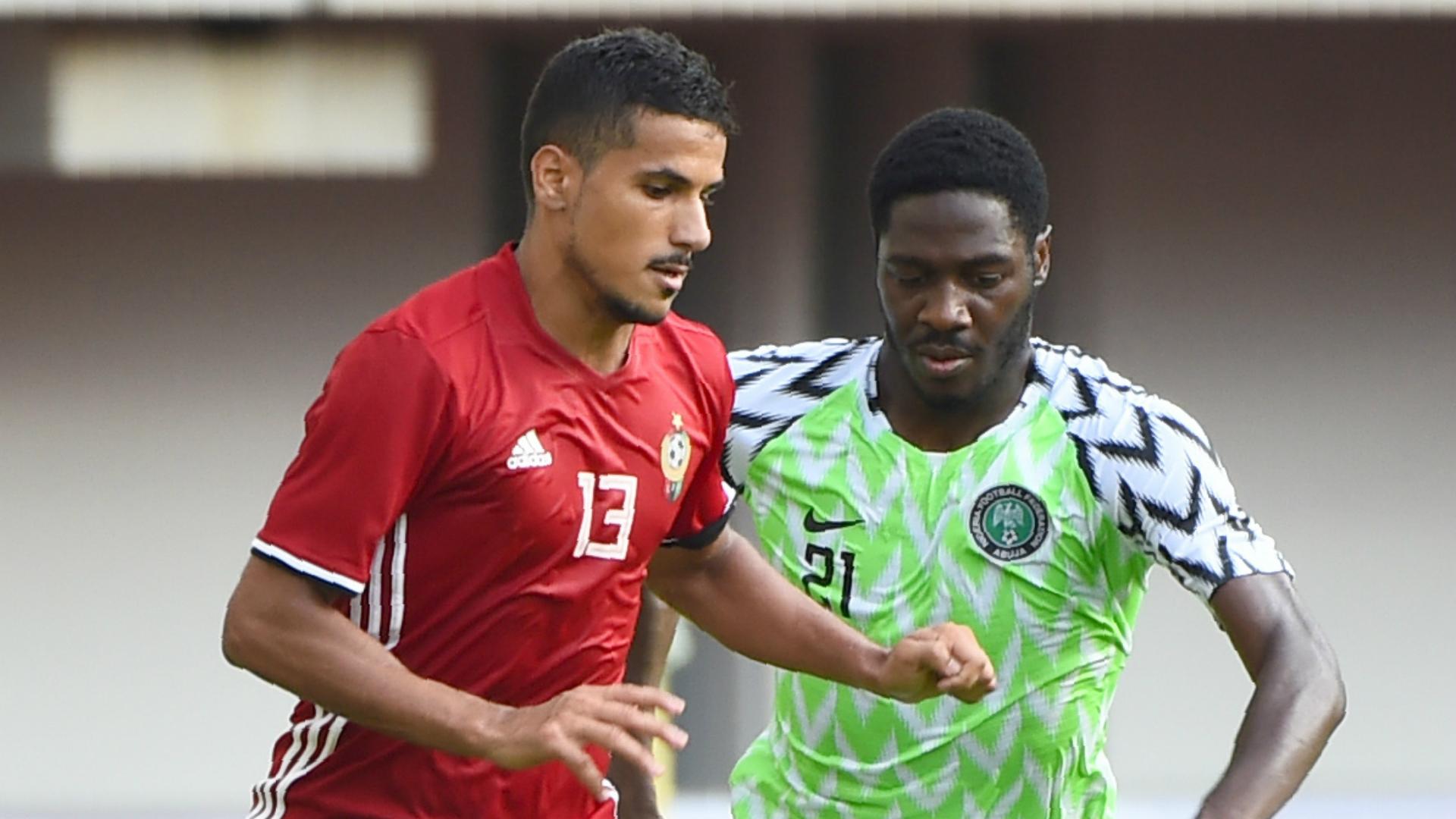 Ola Aina - Nigeria vs. Libya