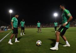 تدريبات المنتخب السعودي