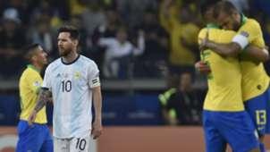 Lionel Messi Argentina Brazil Copa America