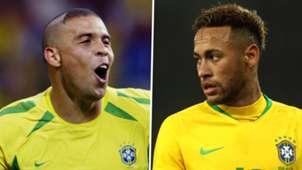 Ronaldo Neymar Brazil GFX