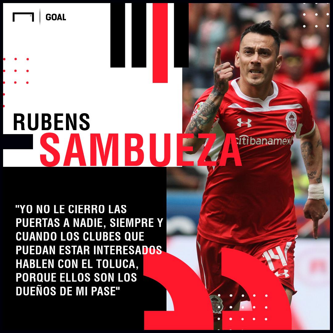 Rubens Sambueza Toluca PS