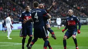 Gol Vidal. Frankfurt Bayern Munich. 9122017