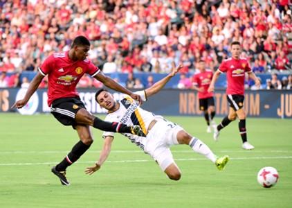 Marcus Rashford LA Galaxy Manchester United