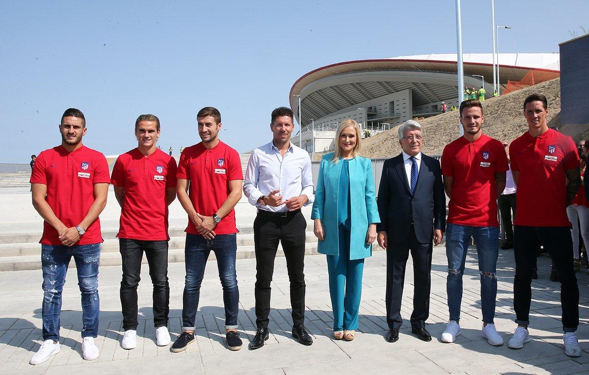Wanda Metropolitano Simeone players