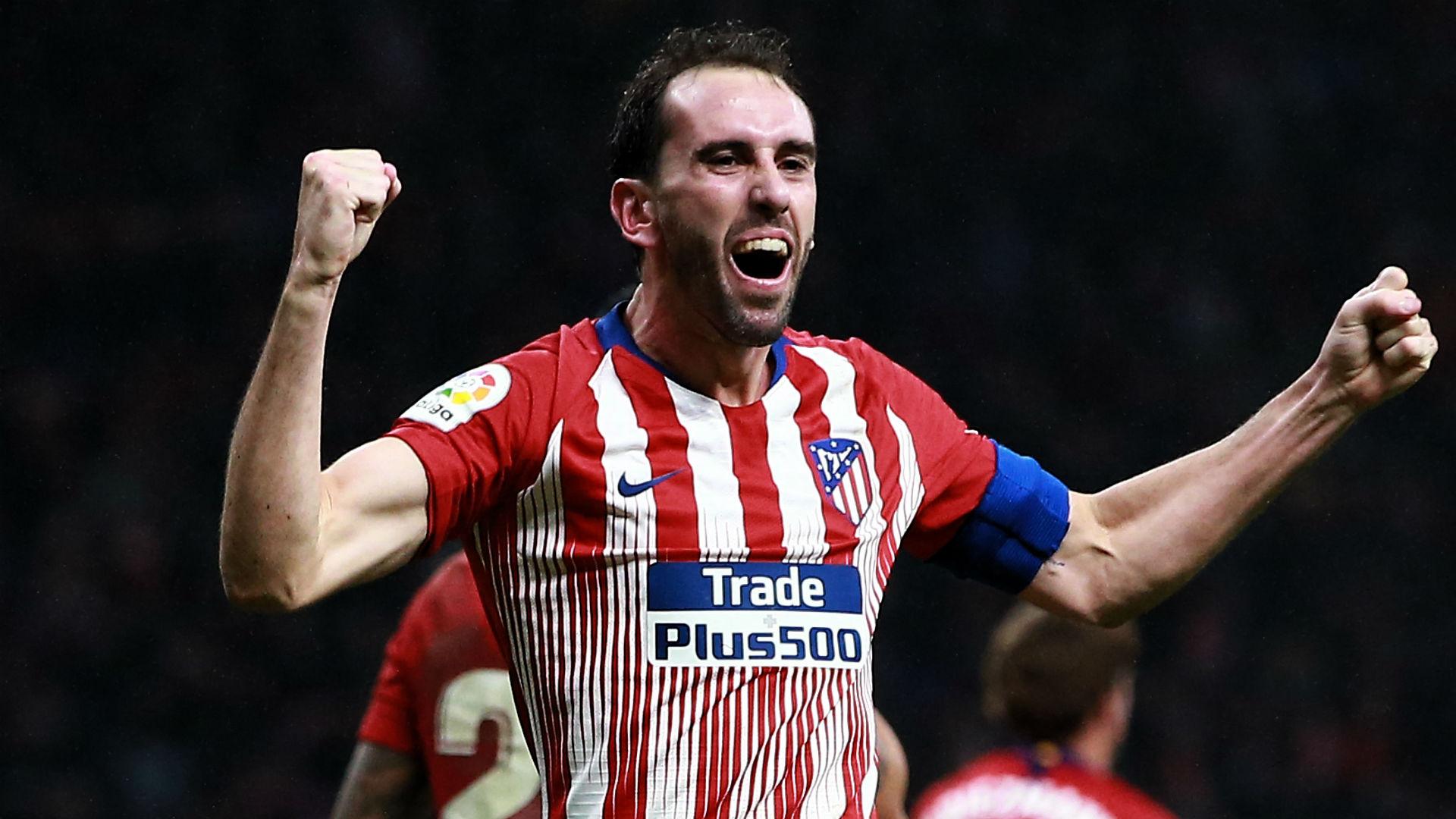 Diego Godin Atletico Madrid La Liga 2018