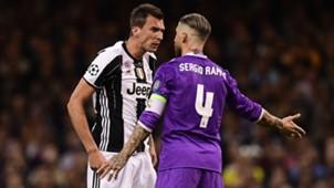 Mandzukic Sergio Ramos Juventus Real Madrid