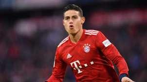 James Rodriguez Bayern Wolfsburg 2019