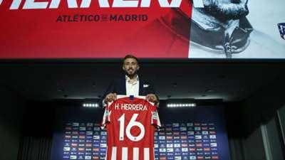 Héctor Herrera presentación Atlético de Madrid 050719
