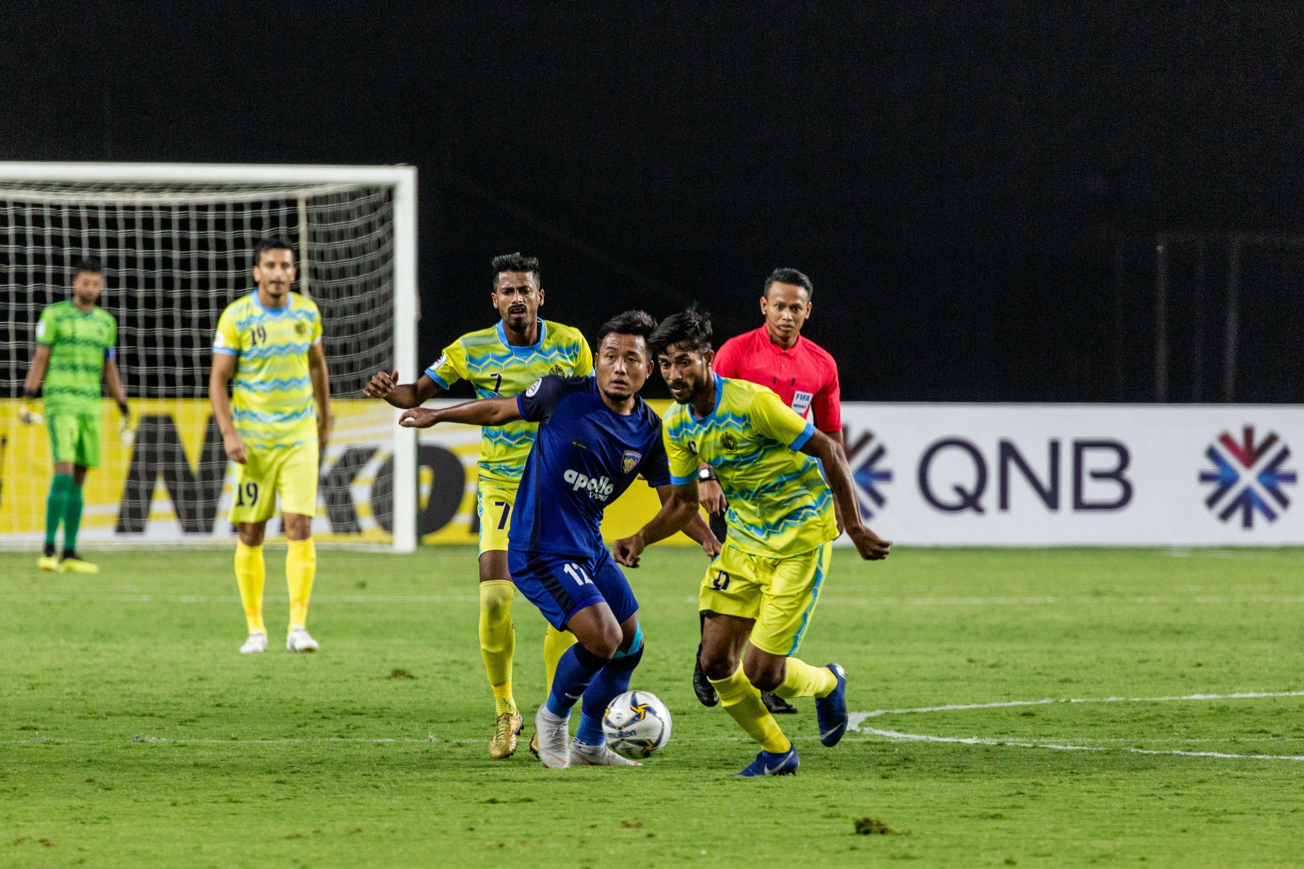 Chennaiyin vs Abahani AFC Cup