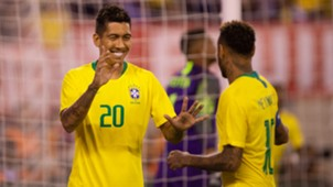 Roberto Firmino Neymar USA Brazil Friendly 07092018