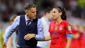 'There's been no approach' - England boss Neville denies links to USWNT position