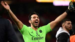 Gianluigi Buffon PSG Manchester United UEFA Champions League 12022018