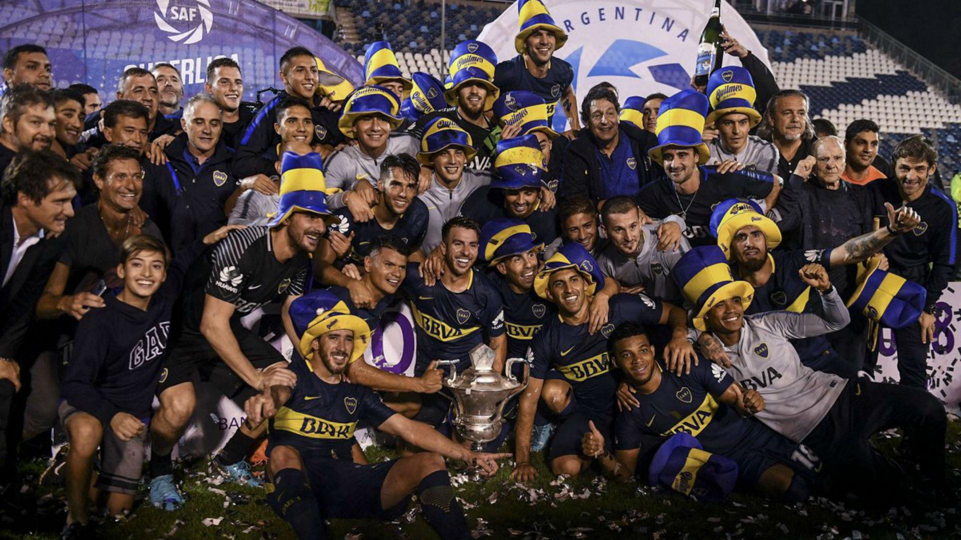 Boca campeon Gimnasia Boca Superliga 09052018