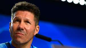 Diego Simeone Atletico Madrid Juventus press conference
