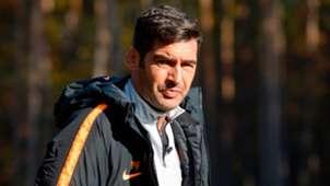 Paulo Fonseca - training