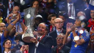 Rafa Benitez wins Europa League with Chelsea