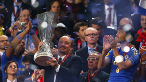 Rafa Benitez wins Europa League with Chelsea