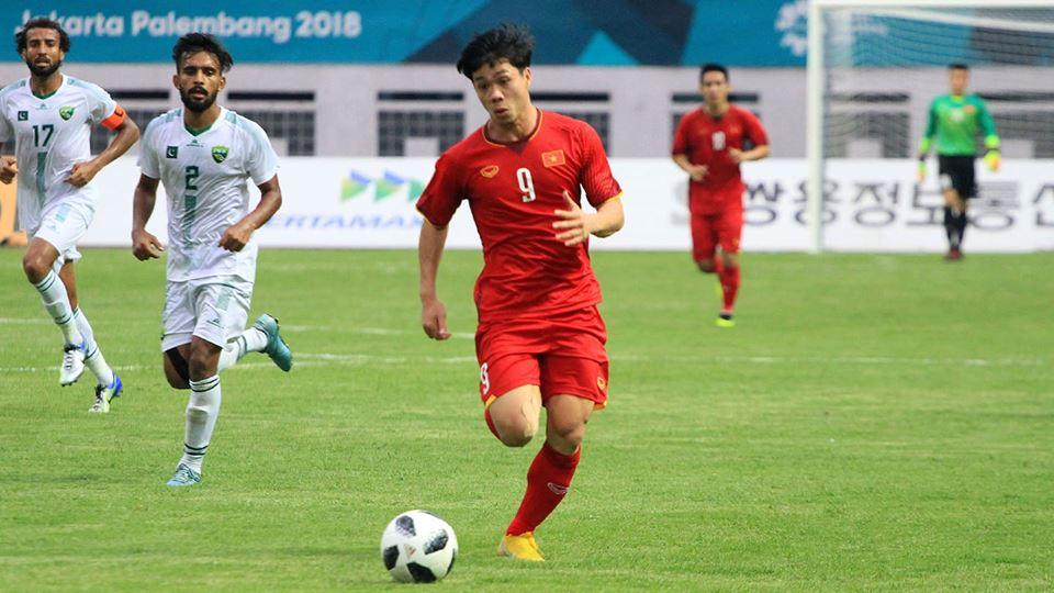 Cong Phuong Olympic Vietnam vs Pakistan