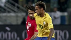 101017 Brasil Chile Neymar Jorge Valdivia WCQ