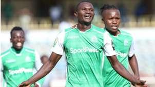 Samuel Onyango of Gor Mahia v Lobi Stars.j