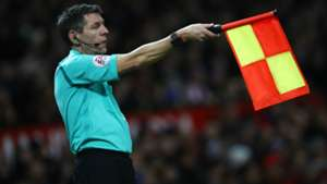 Assistant referee offside