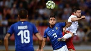 Lorenzo Pellegrini Robert Lewandowski Italy Poland UEFA National League