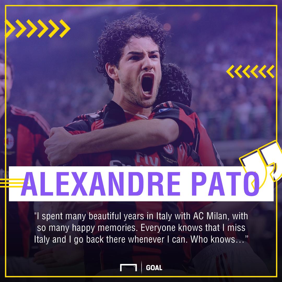Alexandre Pato AC Milan return