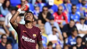 Paulinho Getafe Barcelona LaLiga 16092017