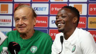 Gernot Rohr, Ahmed Musa - Nigeria