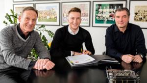 Marco Reus Hans Joachim Watzke Michael Zorc Borussia Dortmund