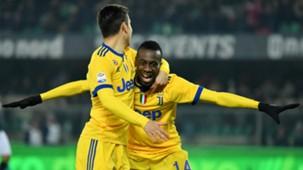Blaise Matuidi Paulo Dybala Juventus Verona