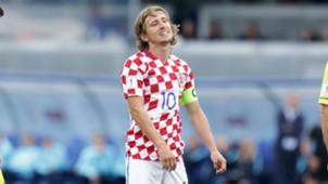 Modric Croatia Kosovo WC Qualification