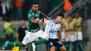 Miguel Borja Leonel di Placido Palmeiras Atletico Tucuman Libertadores 24052017