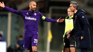 Borja Valero Paulo Sousa Fiorentina Serie A