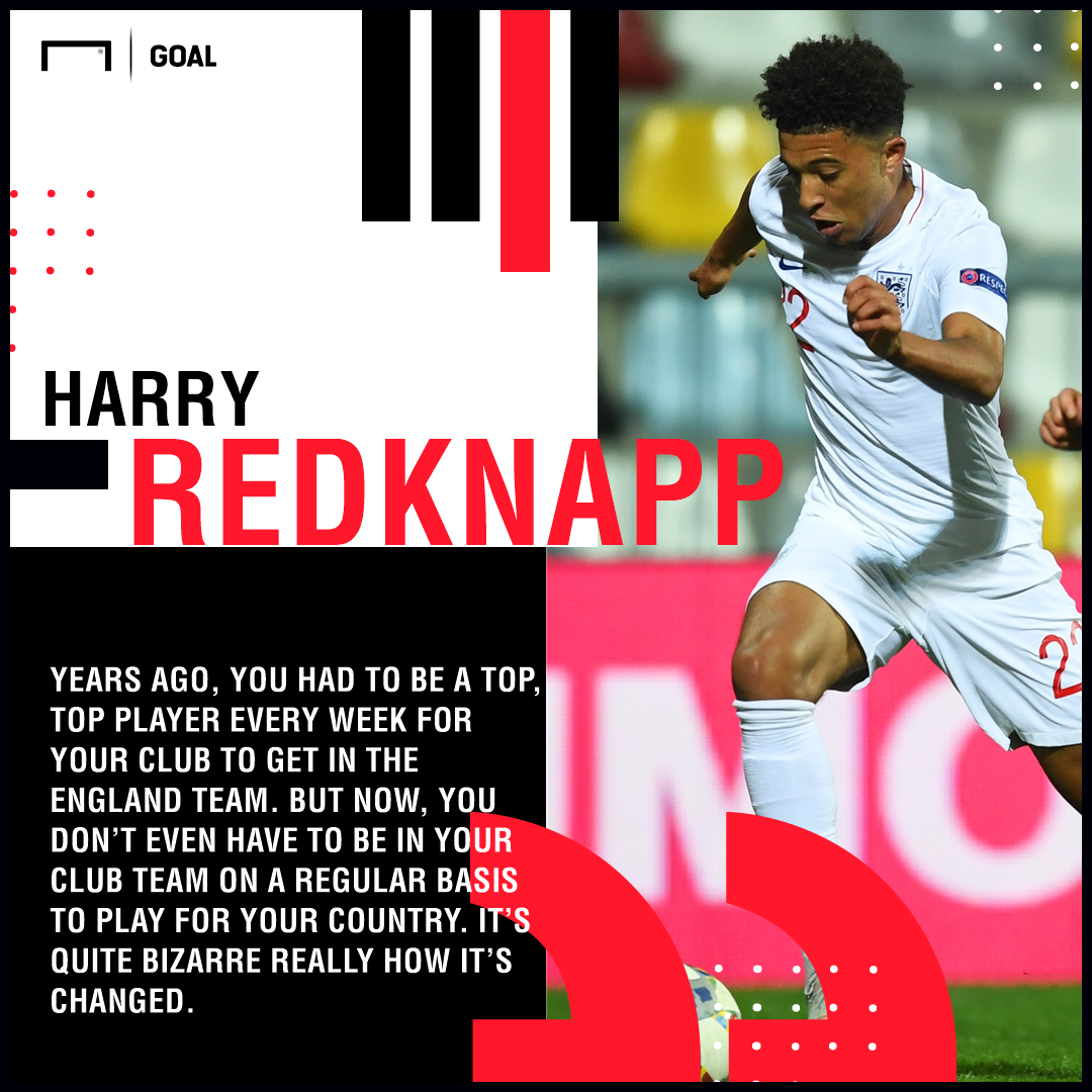 England team too easy to get into Harry Redknapp