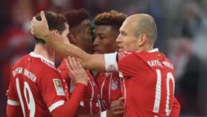 Sebastian Rudy Arjen Robben David Alaba Kingsley Coman Bayern Munich