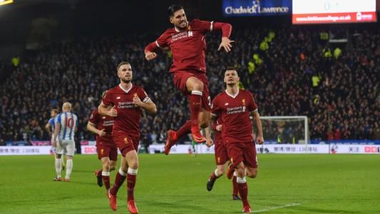 Emre Can Liverpool Huddersfield EPL 01312018